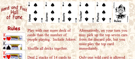 picture regarding Printable Rules for Hand and Foot Card Game named The Card Recreation: The Card Match Hand And Foot Suggestions